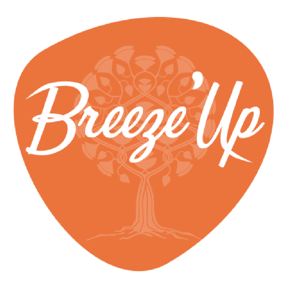 Breezeup logo upright